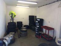 Garage premises To Let midlothian