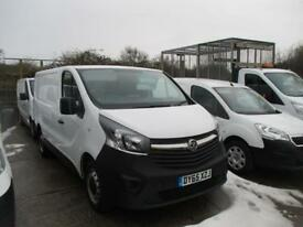 VAUXHALL VIVARO 1.6 2700 L1 H1 CDTI . 115 BHP . NEW SHAPE SWB WITH AIR (white) 2015