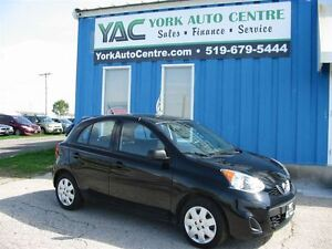 2015 Nissan Micra S; Auto A/C Cruise ABS!