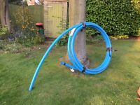 BLUE MPDE POTABLE MAINS WATER PIPE 50MM