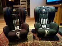 2 britax romer duo plus iso fix twin