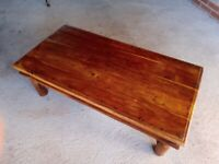 Sturdy Mexican Pine Coffee Table