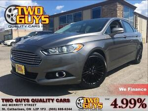2013 Ford Fusion 2.0L SE | LEATHER  | NAV | SUNROOF | BLACK WHEE