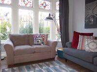 Taupe NEXT 2 Seater Sofa