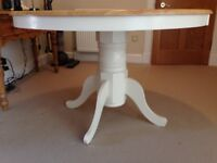 ROUND DINING TABLE 120CM (NO CHAIRS)