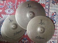 Zildjian low volume cymbal set