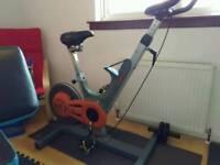 Keiser M2 professional spin (exercise) bike