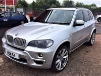 PANORAMIC ROOF! (2008) BMW X5 3.0 SD M SPORT - CAMERA / SAT NAV - LEATHER - ALLOYS - FULLY LOADED