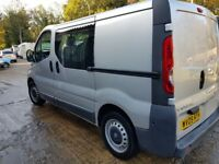 2009 Vauxhall Vivaro,good condition,6 seats, prev cat D