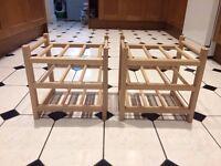 Ikea HUTTEN wine racks