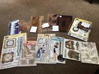 Craft bundle inc stamps and die's