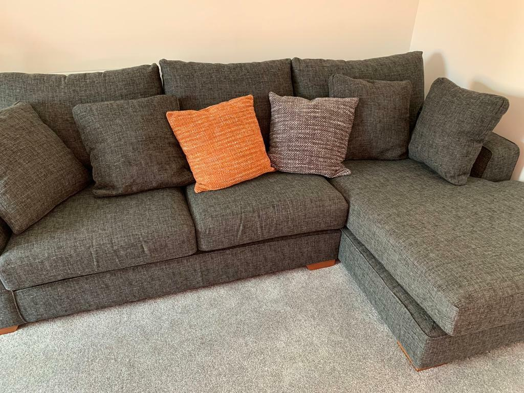 Next Sonoma Snuggle Sofa And Right Hand Chaise 4 Seater