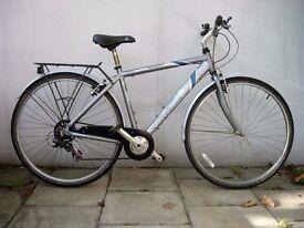 Hybrid/ Commuter Bike by Saracen, Grey, Looks Rubbish/ Runs Great!! JUST SERVICED/ CHEAP PRICE!!!!!