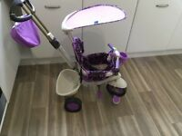SmarTrike Dream in Purple with Touch Steering