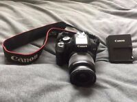 Canon EOS Rebel XSI DSLR Camera Swap for Weights & Bench/ Curling Bar and weights, What you got?.