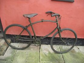 Second World War BSA Paratroopers Bicycle with sliding pedals