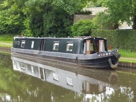60ft Narrowboat for sale, everything you would need to cruise away. £30,000