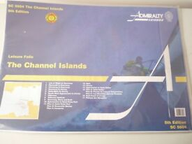 ADMIRALTY CHARTS THE CHANNEL ISLANDS