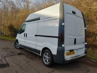 RENAULT TRAFIC HIGH TOP, CAMPER, LOW MILEAGE, IMMACULATE, MOT NOV 21