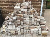 Used Bricks Free of Charge good for hard-core