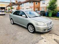 TOYOTA AVENSIS T4 D-4D DIESEL 2003 HPI CLEAR 1.9 DIESEL NEW MOT VERY GOOD DRIVE