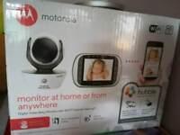 Baby Motorola monitor