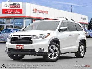 2015 Toyota Highlander Limited Toyota Certified, One Owner, N...