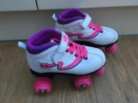 Girls Roller Skates and Pads