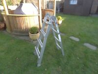 Zarges multi position ladders very useful