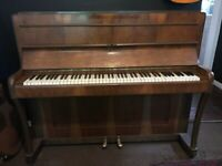 Upright piano, FREE, one key stuck (upper octave G#)