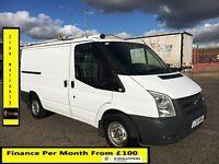 Bargain SALE!!Ford Transit Van 2.2 300-1 Owner-EX BT,FSH -10 Stamps,1YR MOT- 92 K Miles-Elec Windows