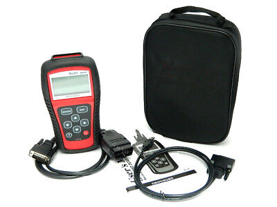 MS509 DEUTSCH f. Mercedes Audi BMW Opel Ford Skoda Diagnose Gerät OBD OBD2 Scan ()