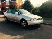 Audi A3 1.8t, great little first car, M.O.T 25-09-17!!!