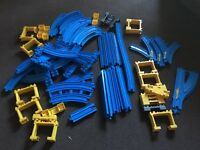 Tomy Trackmaster TRAIN SET blue track 88 pieces mix lots