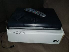 Sky plus hd boxes and router