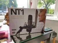 RODE NT1-KIT Cardioid Condenser Microphone Recording Kit