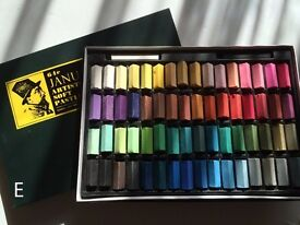 JANUA soft pastels 64 Color Set Square Chalk (NEW condition)