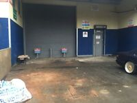 COMMERCIAL INDUSTRIAL UNIT WORKSHOP GARAGE MECHANICS STORAGE CAR PITCH TO LET RENT