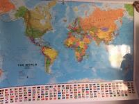 Wall Map of the World (Laminated)