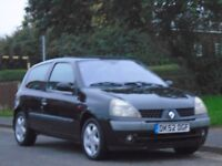 Renault Clio 1.2 16v Dynamique 3dr£799 p/x welcome 2 OWNERS,GOOD SERVICE,FULL MOT