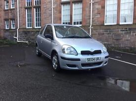 2004 TOYOTA YARIS 1.4D4D (DIESEL) MOT AUG 17 £30 TAX FSH BARGAIN 995