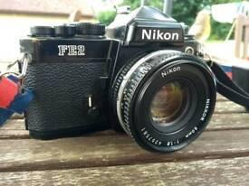Nikon FE2 with Nikkor 50mm Lens
