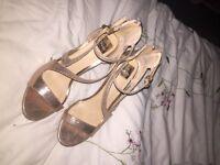 Miss Selfridge sparkly heels