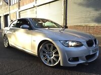 BMW 3 SERIES 2008 3.0 330d M Sport 2 door AUTOMATIC, CONVERTIBLE, F/S/H, 2 OWNERS, FULLY LOADED