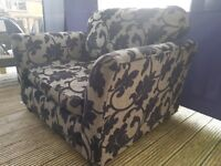 Gorgeous, Patterned Cuddle Chair