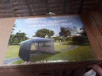 Pop up gazebo with sides 3x3, Tesco 2 burner gas barbecue brand new, Tesco table top patio heater