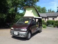 MAZDA BONGO MOTOR CARAVAN/CAMPER VAN MIDDLE SIDE KITCHEN CONVERSION/MAINS HOOK UP/ PULL OUT AWNING