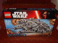 New Lego Millenium Falcon 75105 (£80)