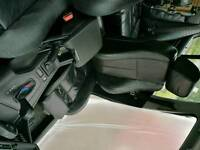 BMW BLACK LEATHER SEATS
