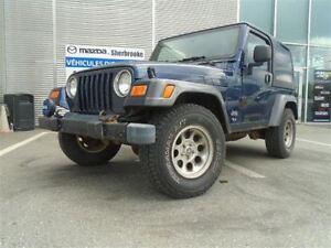 2004 Jeep Wrangler SPORT 4.0L V6 2 TOITS  BON PNEUS